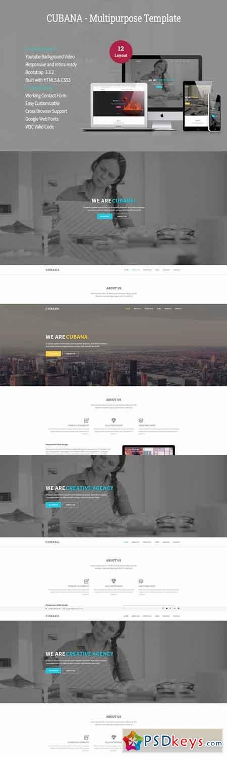 Cubana - Multipurpose Template 311502