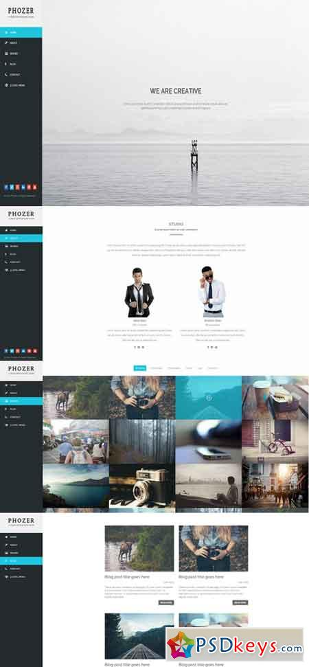 Phozer - Photography HTML5 Template 200401