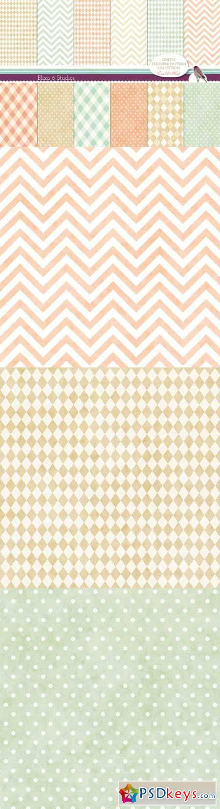 Gently Textured Geometric Patterns  33028