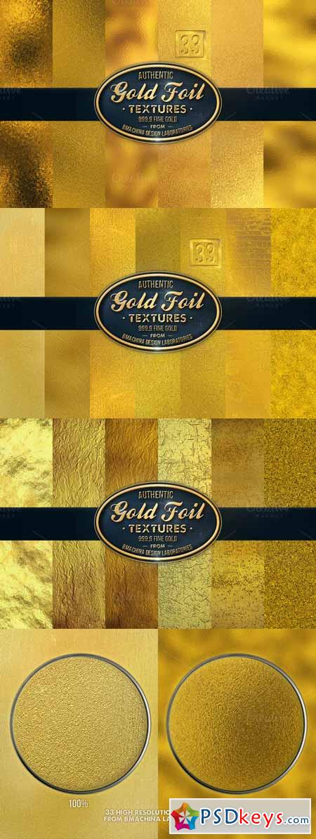 31 Authentic Gold Textures 255072