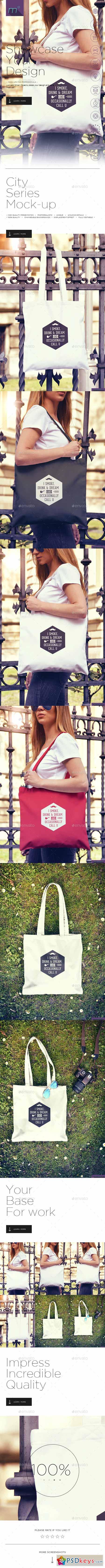 Tote Bag Mock-up 12323981