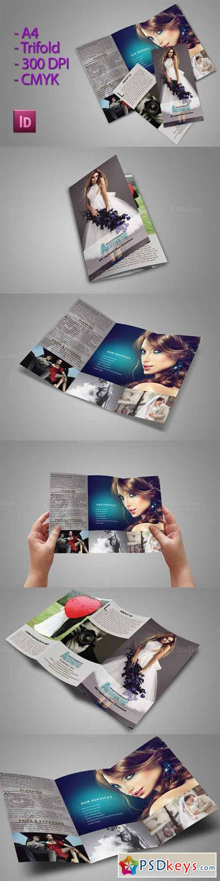 Trifold Brochure For Photographer 360800
