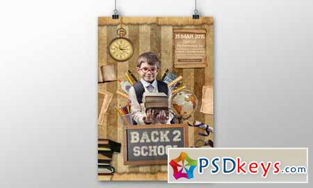 Back To School Flyer 362948