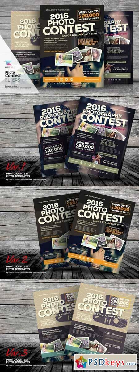 Photo Contest Flyer Templates 361917 Free Download Photoshop