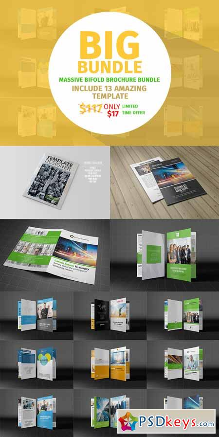 bifold business brochure bundle 363256