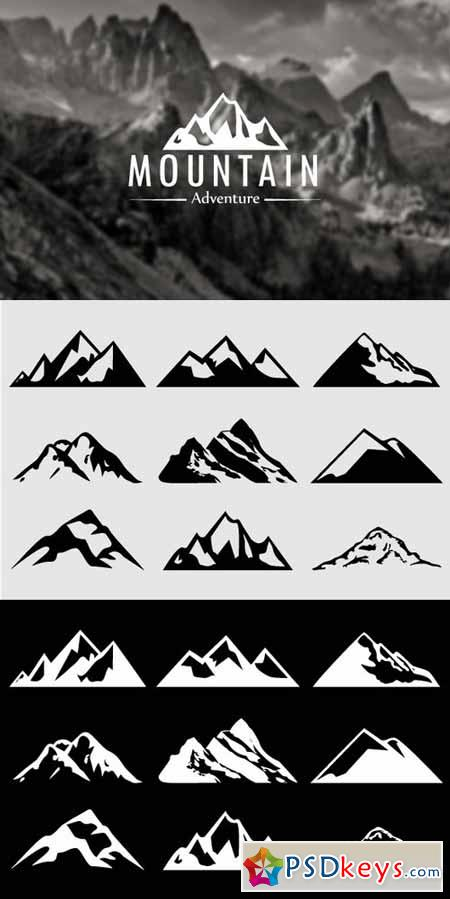 photoshop logo shapes free download