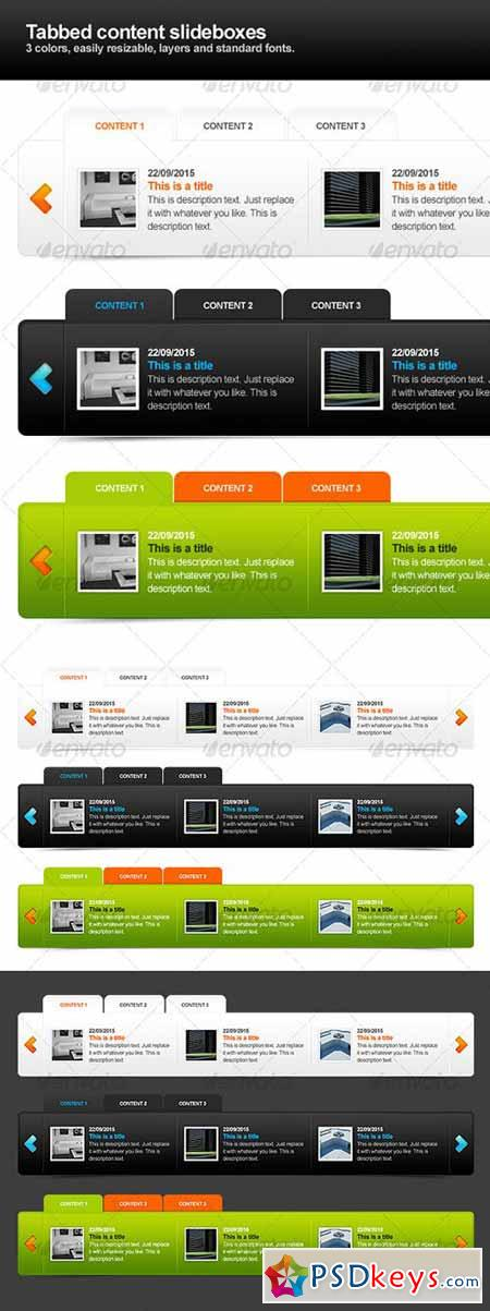 Tabbed content sliders 113154
