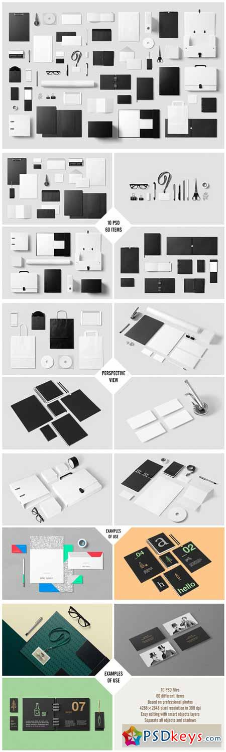 Corporate Stationery Mock-Up 100867