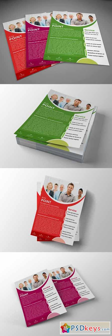 A4 Corporate Business Flyer 365595