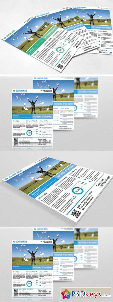 Corporate Flyer 350172