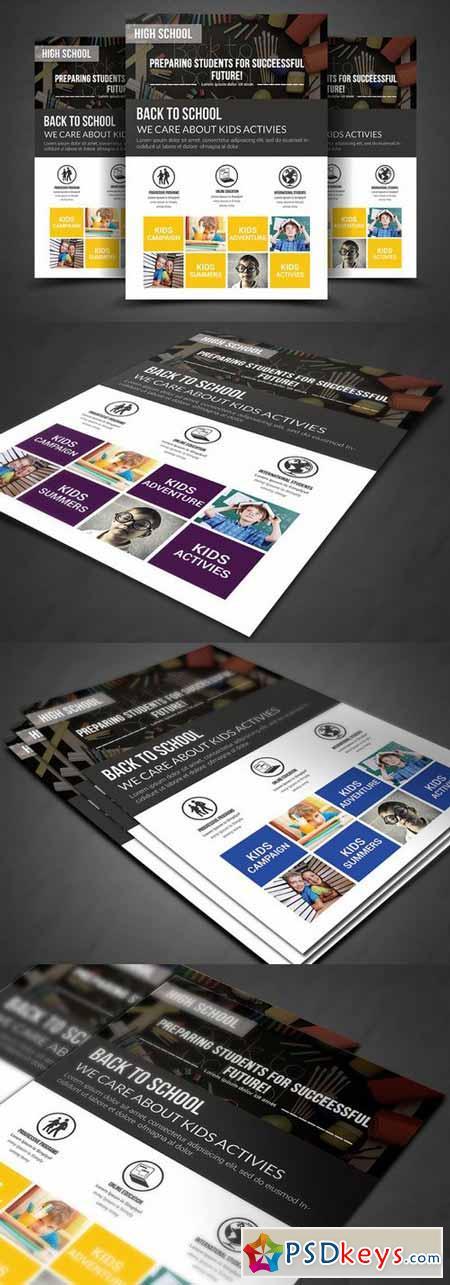 Kids Education FlyerTemplates 366454
