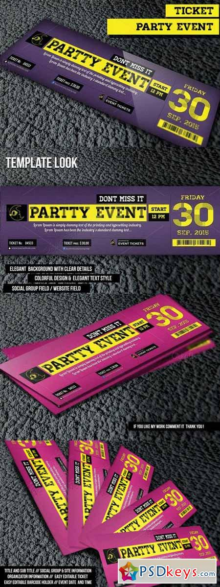 Night Party Ticket 363661