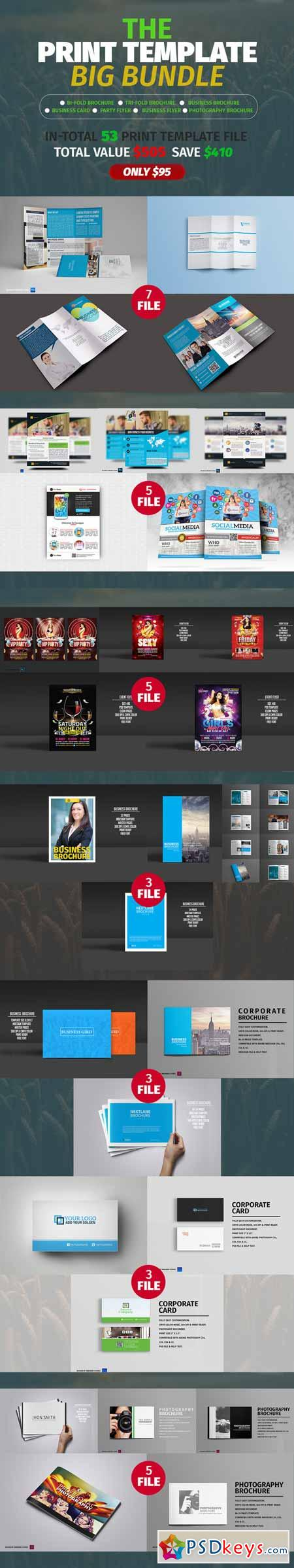 The Print Template Big Bundle 365649