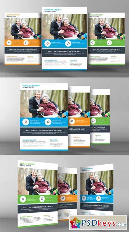 Senior Care Flyer Template 361507