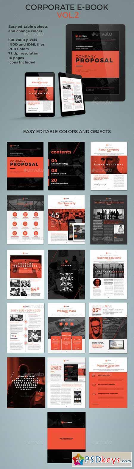 Corporate E-book Template Vol.2 12440752