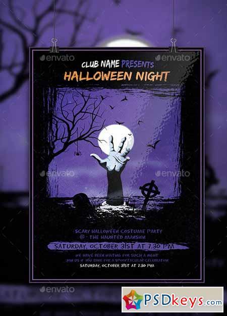 Halloween Flyer 12707395