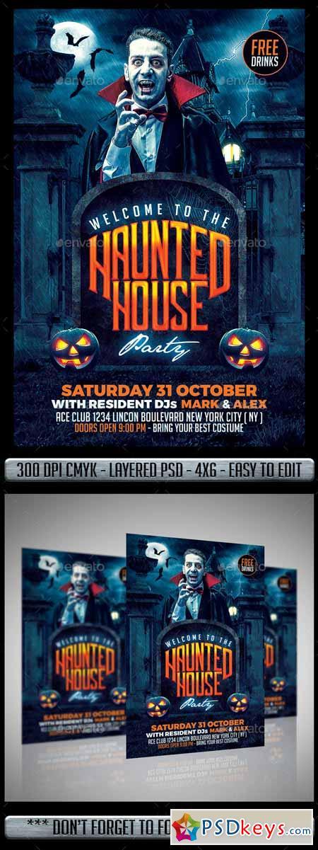 Halloween Flyer 12800550