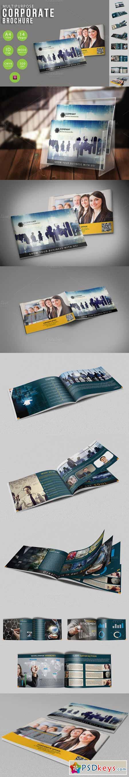 Multipurpose Corporate Brochure 370051