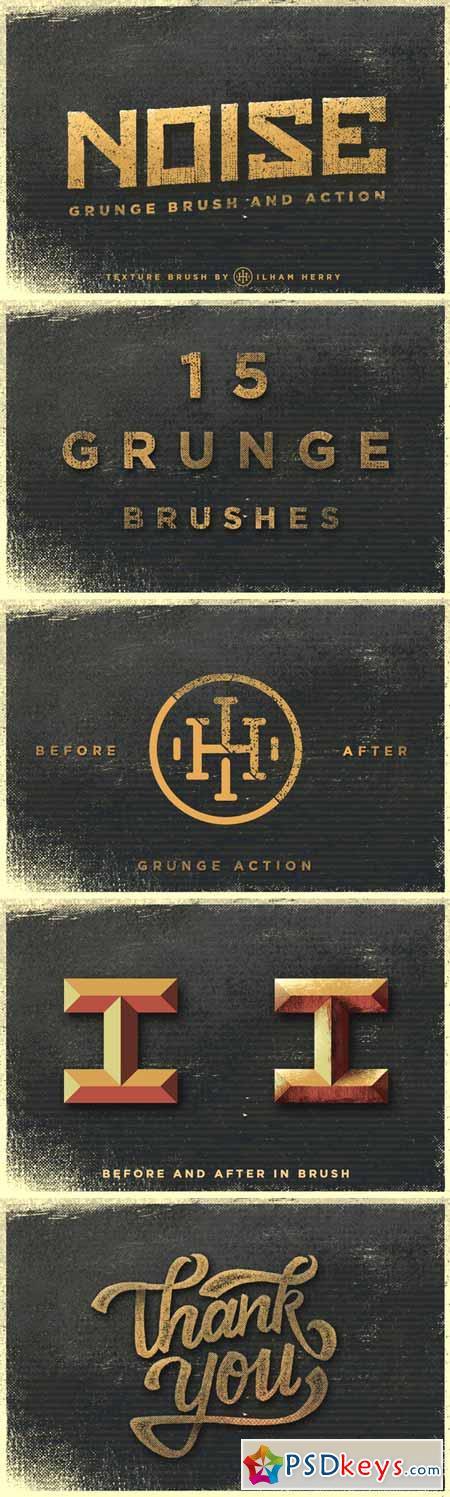 Noise - Grunge Brushes Pack 18158