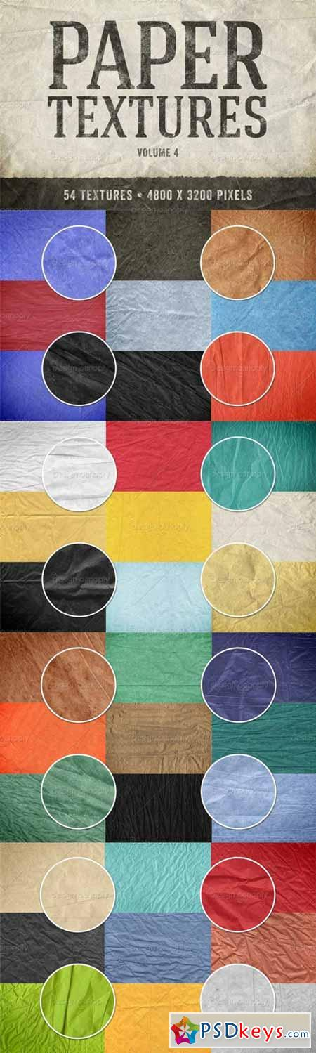 Paper Textures Pack Volume 4