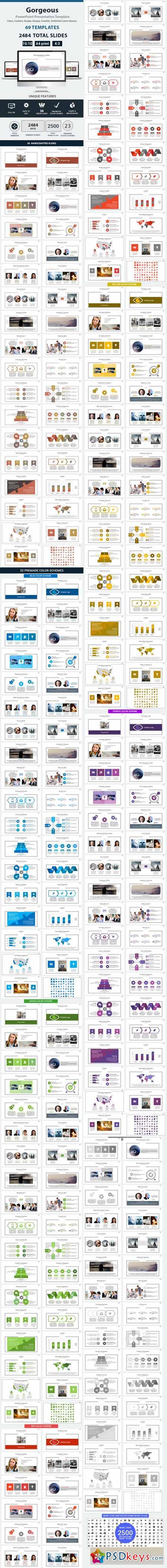 Gorgeous PowerPoint Presentation Template 12719873
