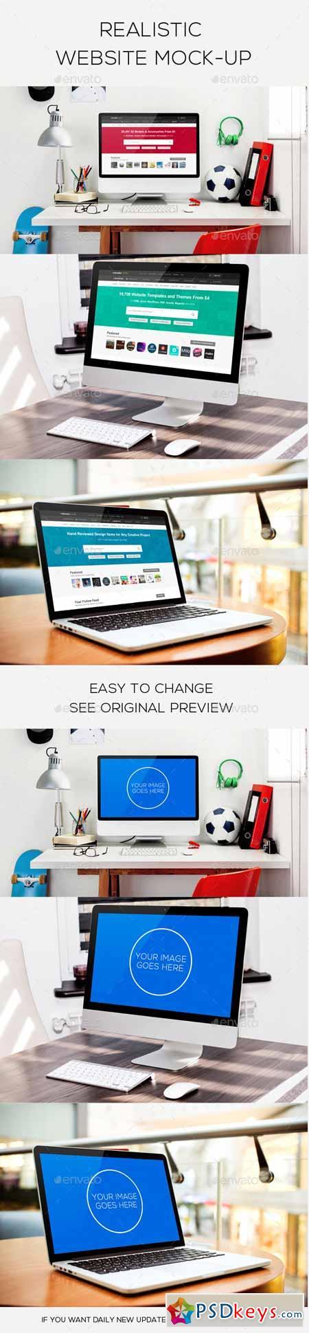 Website Design Mockup 12505820