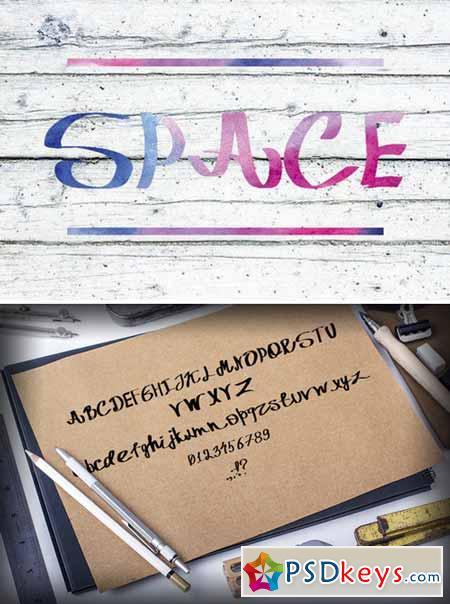 Italic font marker pen 373496