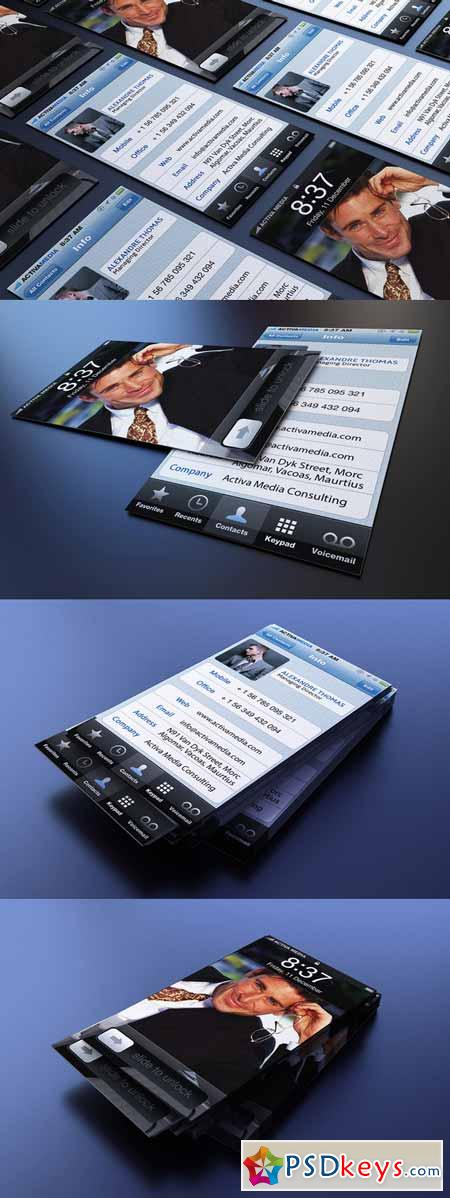 Iphone Business Card 190684