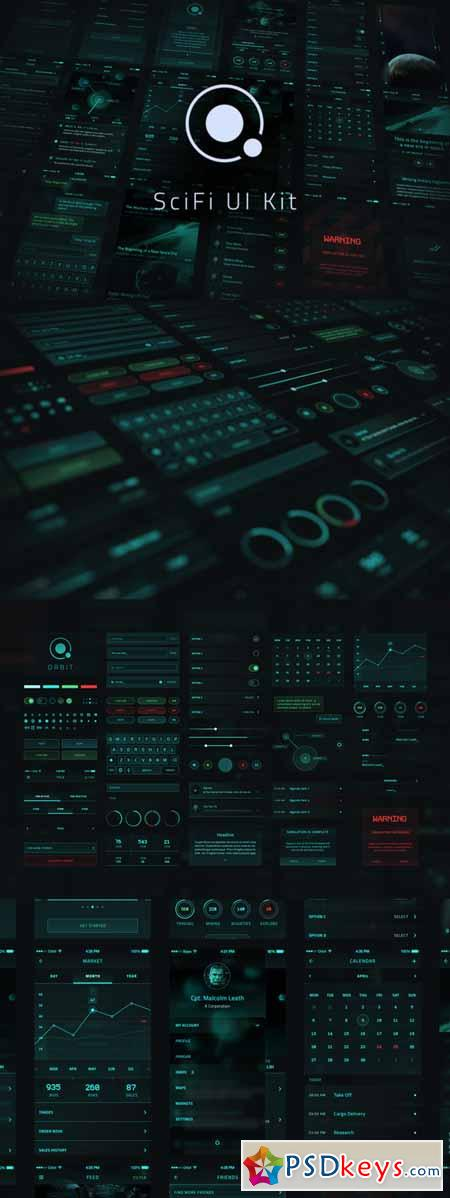 Orbit SciFi UI Kit 163951