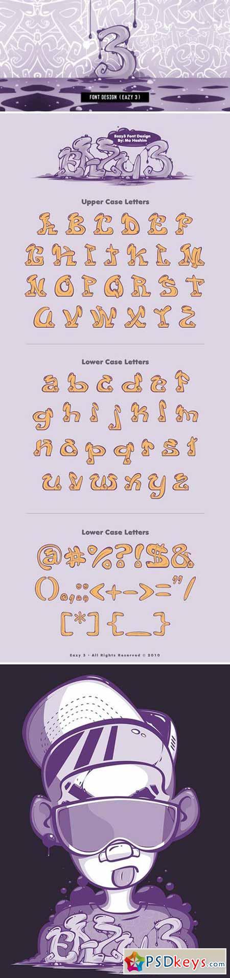 Eazy 3 font
