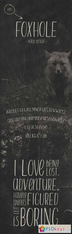 FOXHOLE Font