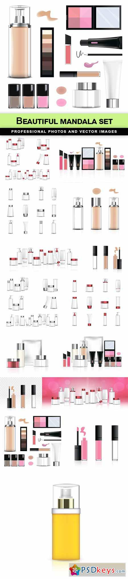Beauty product package - 15 EPS