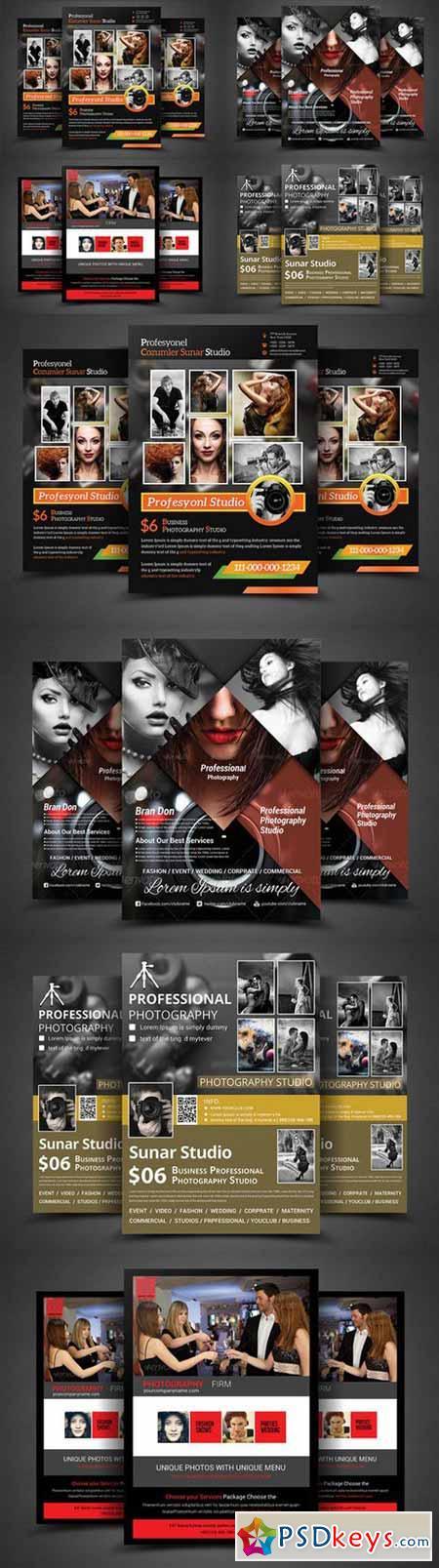 Photography Business Flyer Bundle 374404