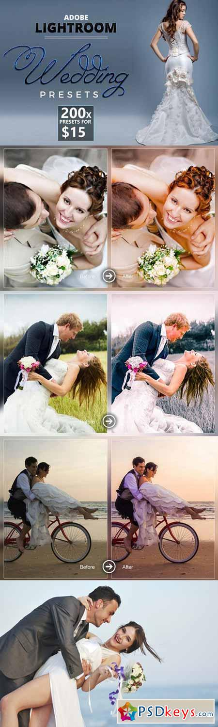 200 Lightroom Wedding Presets 371472