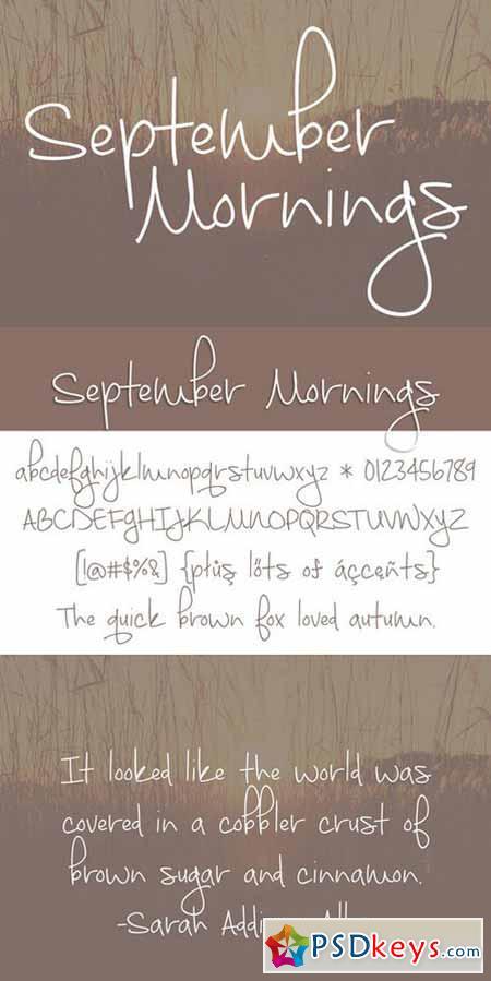 September Mornings 375066