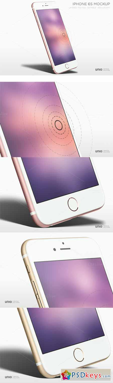iPhone 6s with 3D Touch Mockup 375322