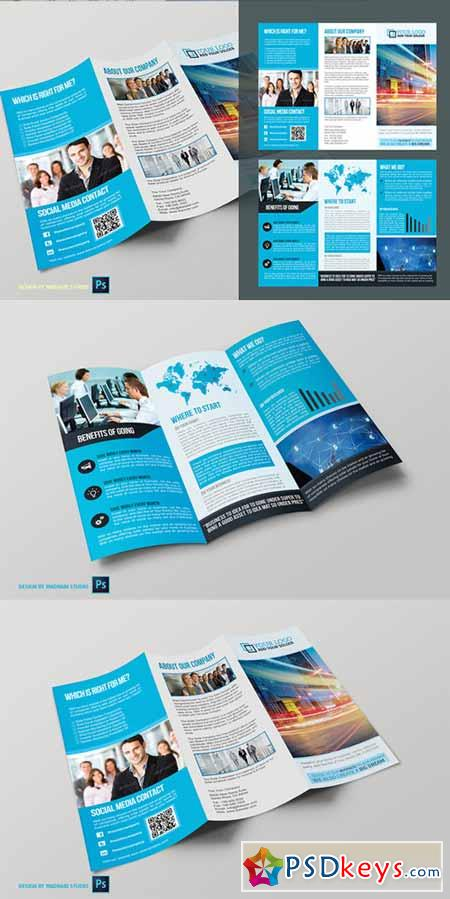 Trifold Business Brochure Vol01 374755