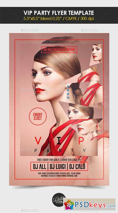 Vip Party Flyer Template 12754957