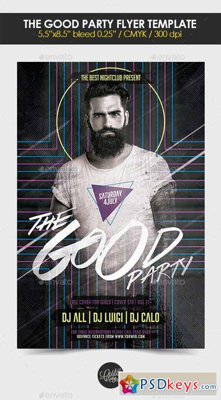 The Good Party Flyer Template 12703339