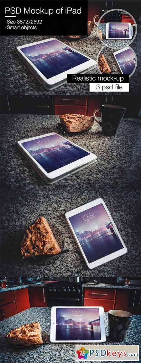 PSD Mockup of iPad 370764