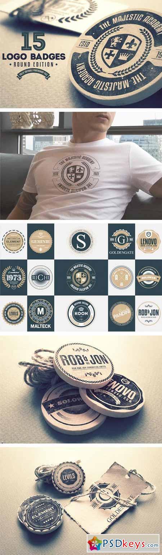 15 Logo Badges Round Edition 252159