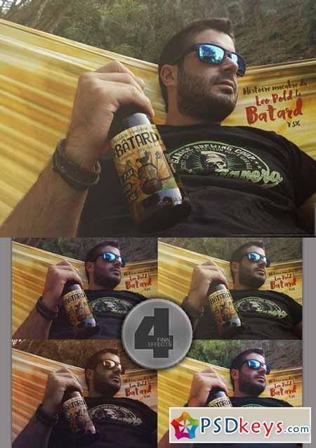Hammock Beer Mockup 376173