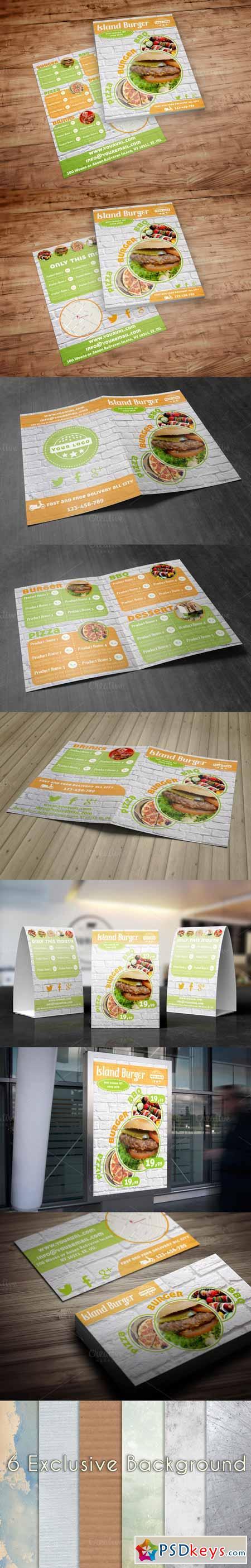 Burger Menu 363807