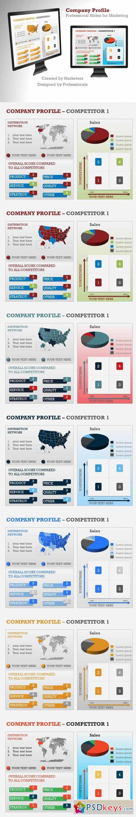 Company Profile PowerPoint Template 372633