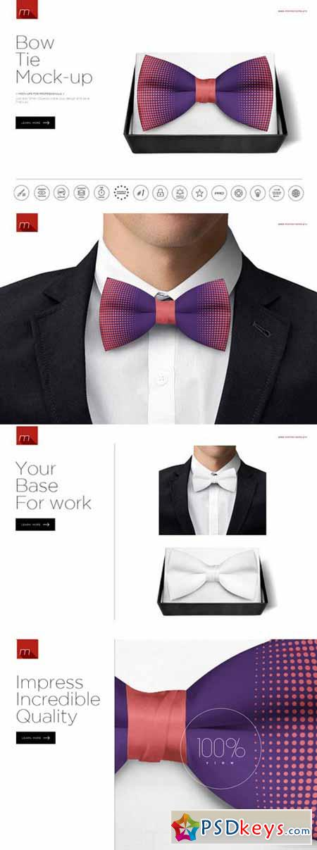 Bow Tie Mock-up 380657