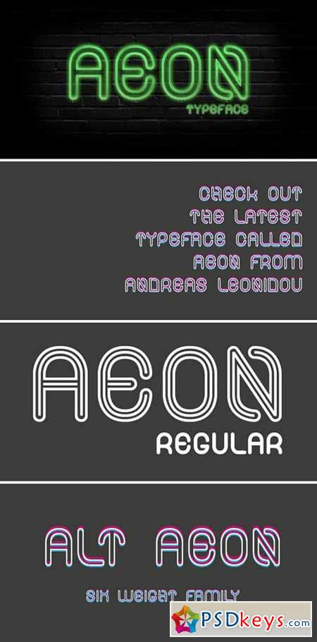 AEON font family