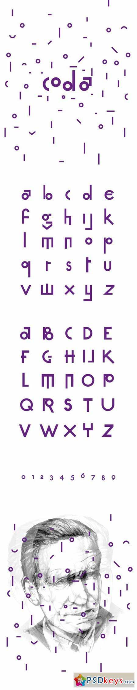 Coda typeface