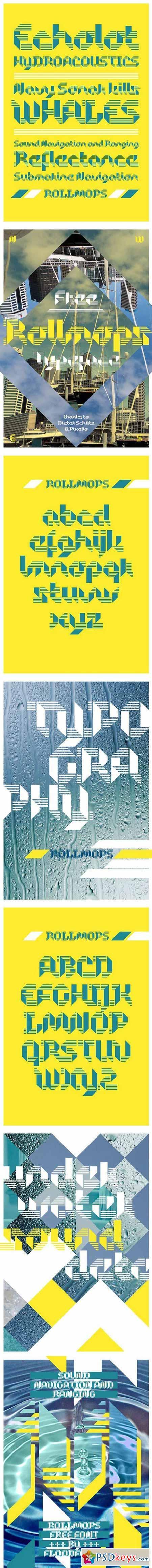 Typeface Rollmops