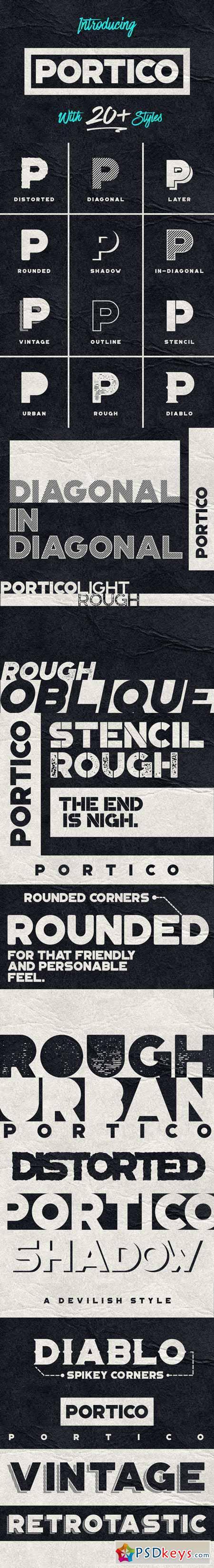 Portico Typeface 380581