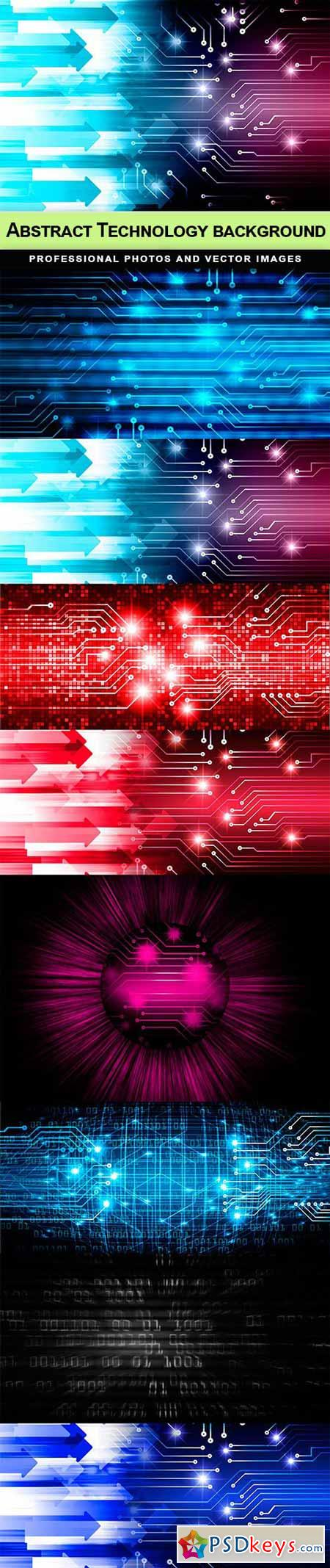 Abstract Technology background - 8 UHQ JPEG